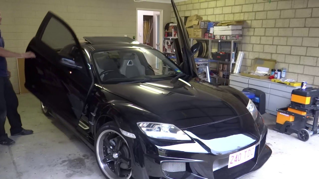 Mazda Rx8 Lambo Doors By Instyle Auto Youtube