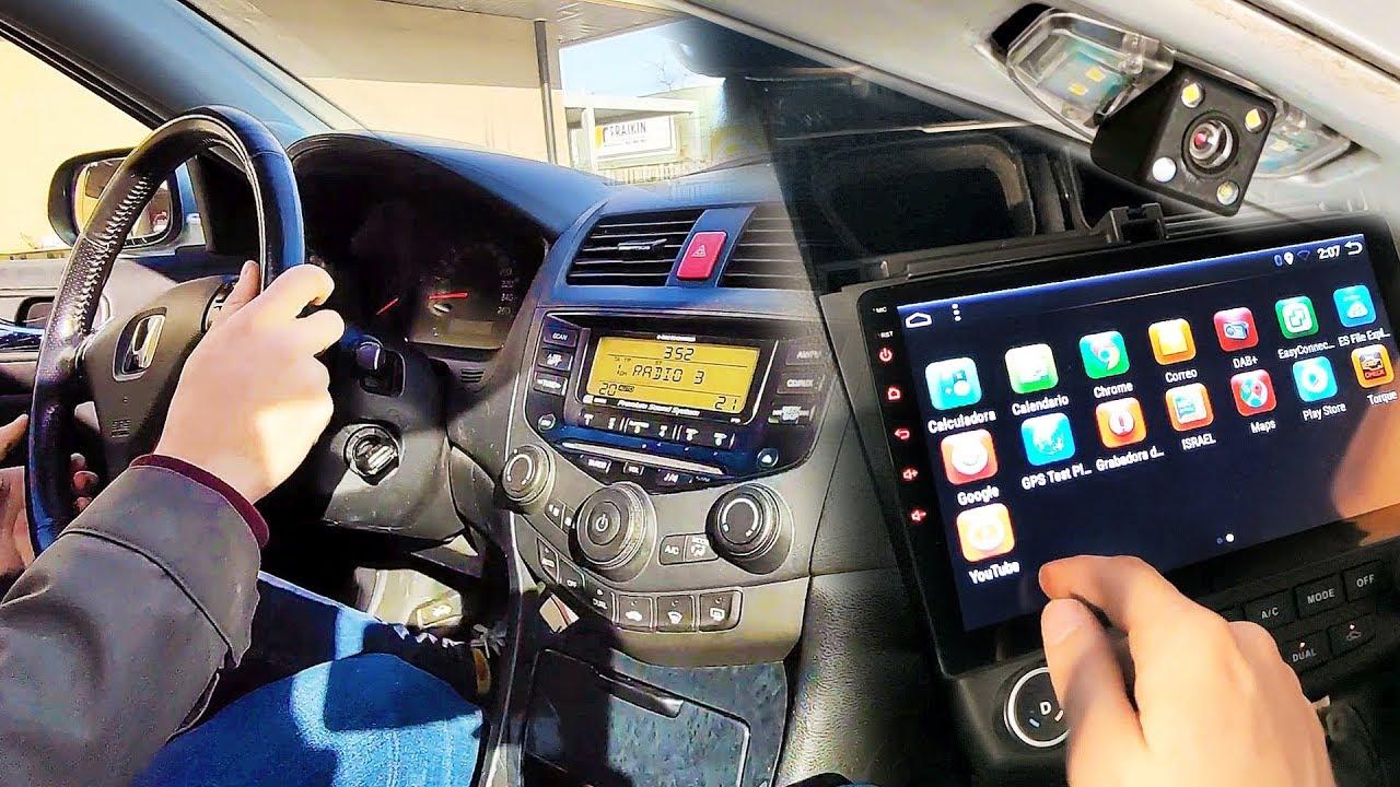Download Como Instalar una Radio Android Auto con Camara Trasera  | Kit Facil de Montar en el Coche
