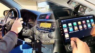 Como Instalar una Radio Android Auto con Camara Trasera  | Kit Facil de Montar en el Coche