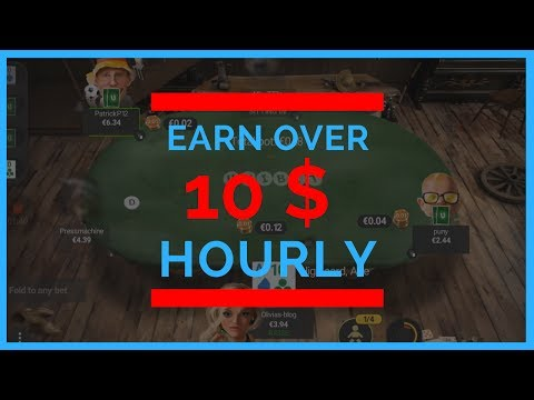 How To Beat Online Poker Tables 6max Online Poker Strategy for 10$ per Hour