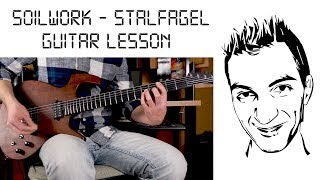 Soilwork - Stålfågel guitar lesson (minus the solo)