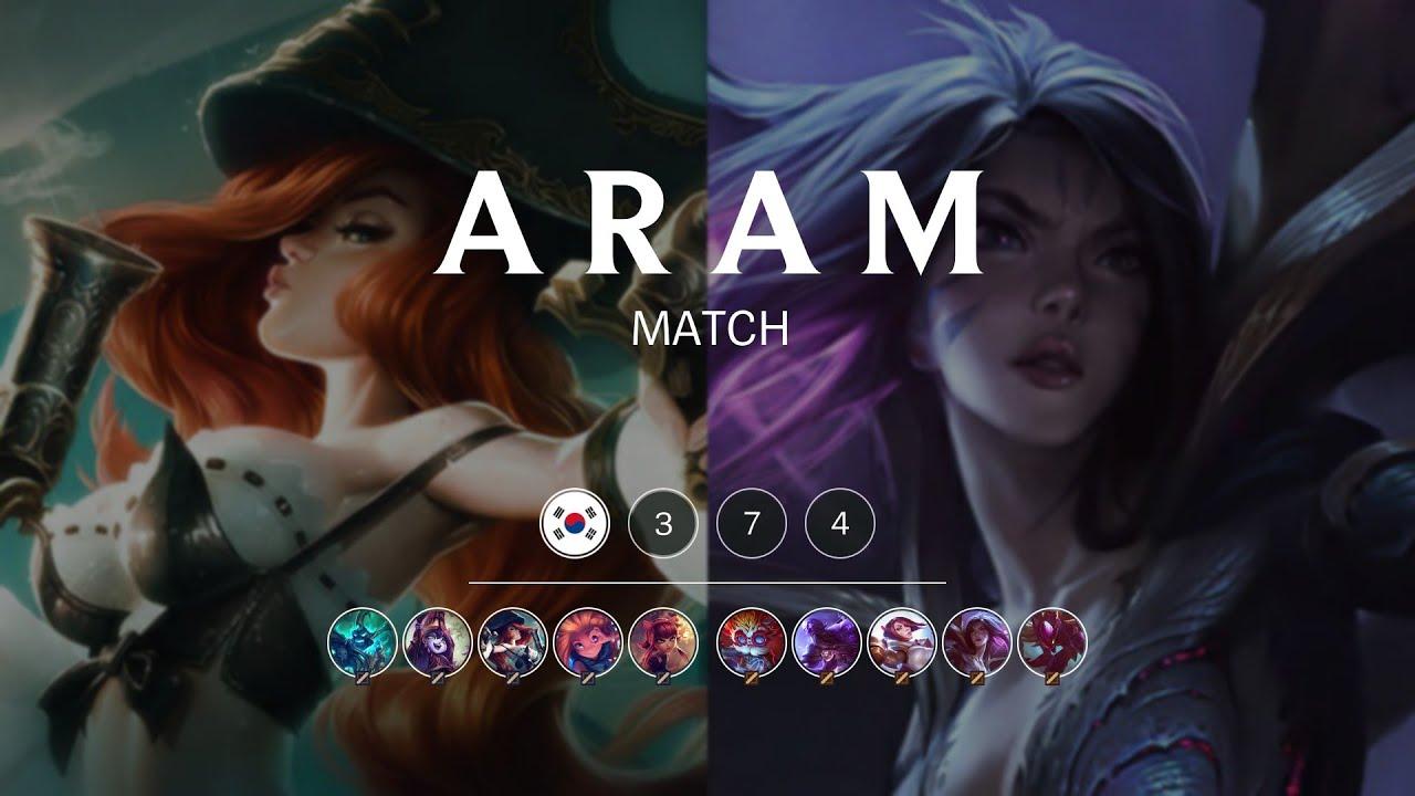ARAM Match #374 | All Random All Mid - YouTube