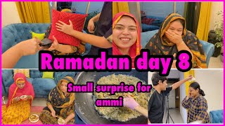 Ramadan day 8 | small surprise for ammi | sehri time | birthday coming soon | lauki halwa | vlog |