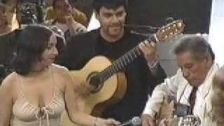 Tio Lalo Parra y Familia - LA NEGRITA - Viva el Lunes (Canal 13, Chile, 1999)