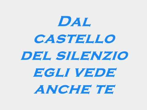 Adriano Celentano: Pregherò con testo