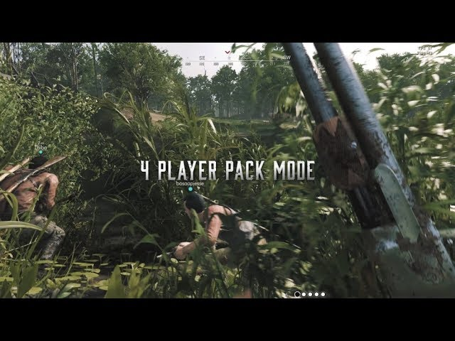 Hunt: Showdown - Unofficial 4 Player Pack Mode Trailer [4K]