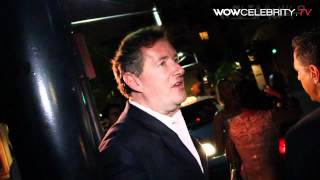 Piers Morgan talks about Madonna, Katie Holmes and Tom Cruise Divorce