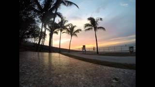 Sunset Time Lapse 7 Mile Bridge Florida Keys