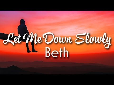Alec Benjamin - Let Me Down Slowly  - Beth Acoustic Cover
