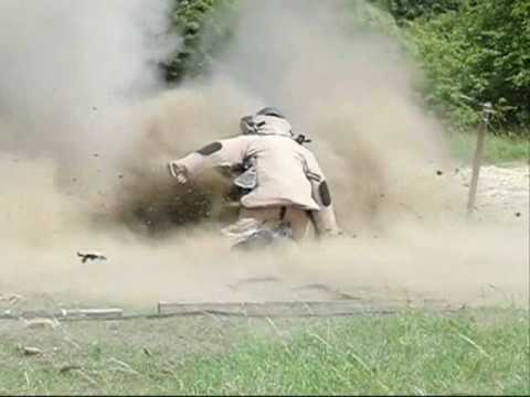 Olympia EOD Bomb Disposal Suit Blast Test