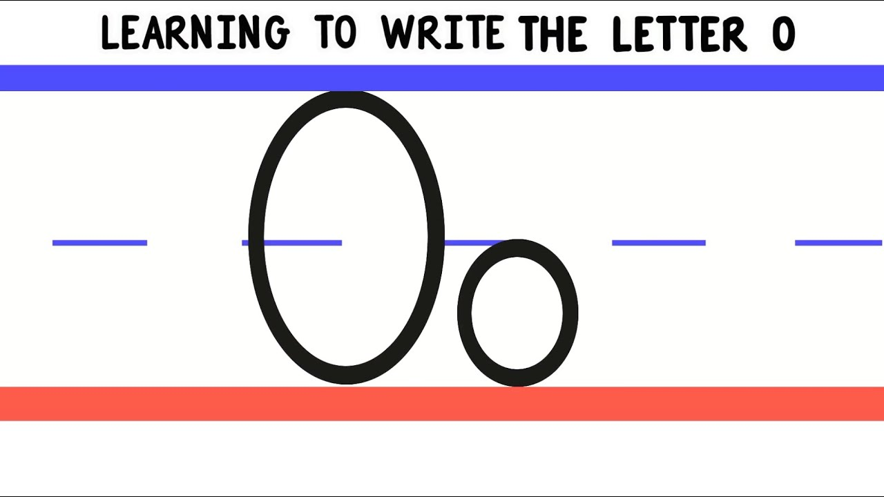 Cursive Letters Write All
