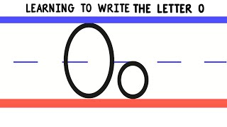 Write the Letter O - ABC Writing for Kids - Alphabet Handwriting by 123ABCtv