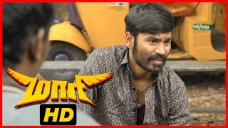 Maari Tamil Movie | Scenes | Dhanush released | Vijay Yesudas and Mime Gopi become partners
