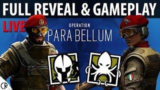 Full Reveal & Gameplay - Para Bellum - 6News - Tom Clancy's Rainbow Six Siege - R6