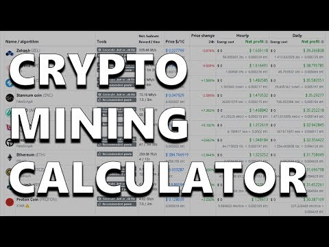 Crypt0 Zone - The Mining Calculator For Speculative Coins