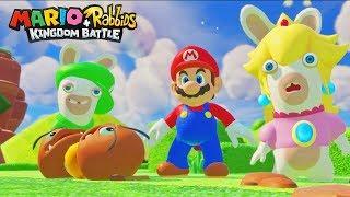 DE HELE WERELD IN PUIN - Mario + Rabbids Kingdom Battle