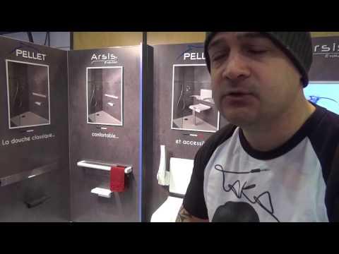 #reportage : Le siège de douche PMR innovant Artis de PELLET !