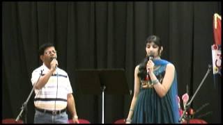 """Sridhar Subbarao & Neha Nataraj sing Kannada song """"onde ondu aseyu"""""""