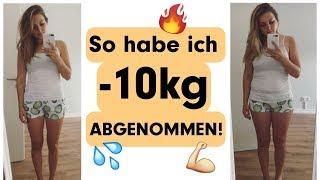 Abnehmen ohne Hungern! SO HABE ICH 10kg ABGENOMMEN! 💪🏼💦🔥