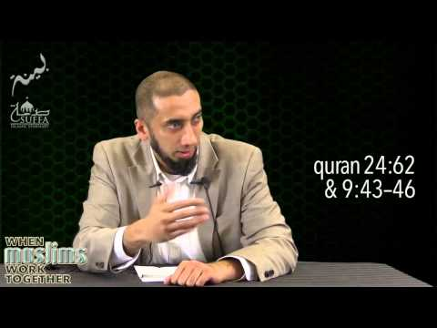 When Muslims Work Together || Part 3 - Volunteer Discipline by Nouman Ali Khan