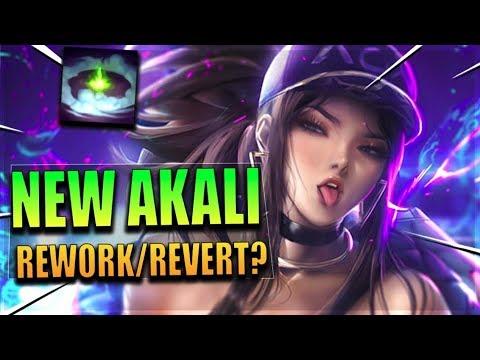 NEW AKALI REWORK/REVERT - League of Legends