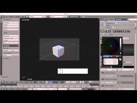 Blender tutorijal 01 - Uvod u Blender