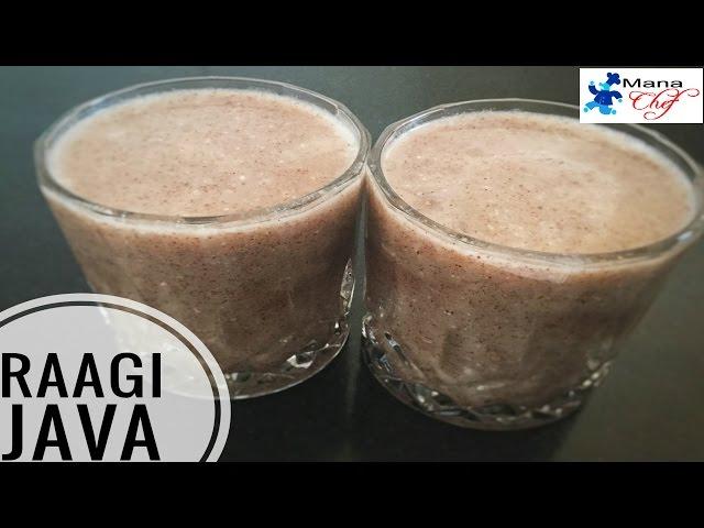 Raagi Java / Raagi Malt (Ambali) Recipe In Telugu