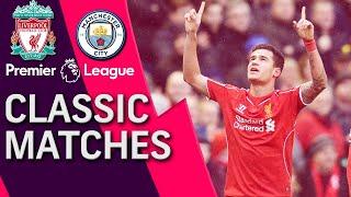 Liverpool V. Manchester City | Premier League Classic Match | 03/01/2015 | Nbc Sports