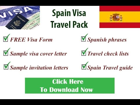 Spanish visa form schengen visa form visa form for spain youtube thecheapjerseys Gallery