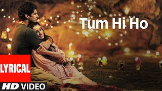 Tum Hi Ho Aashiqui 2 Full Song With Lyrics Aditya Roy Kapur Shraddha Kapoor