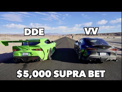 I Bet DailyDrivenExotics $5,000 I'd Beat His Supra! *Bad Idea*