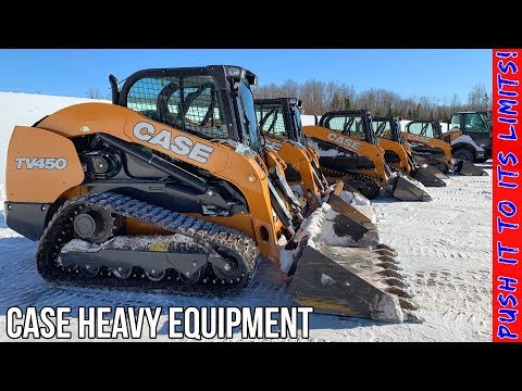 Case Heavy Equipment Review | Track Loader - Wheel Loader - Excavator
