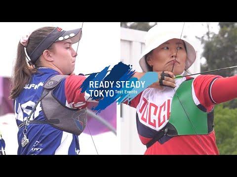 Casey Kaufhold v Anna Balsukova – recurve women 1st round | Tokyo 2020 Olympic Test