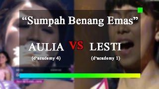 Sumpah Benang Emas-Aulia Pontianak VS Lesti #merinding dengar suaranya