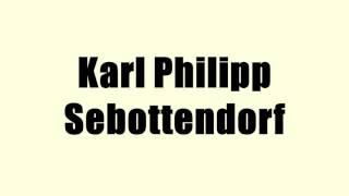 Karl Philipp Sebottendorf