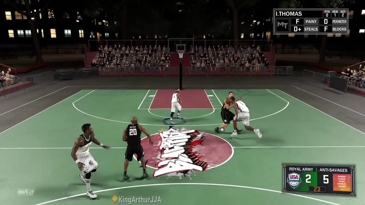 NBA 2K17 MyTeam BlackTop Diamond George McGinnis