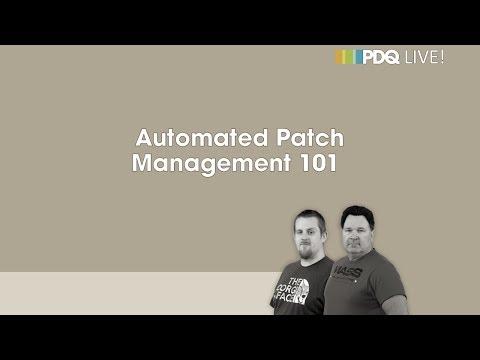 PDQ Live! : Automated Patch Management 101