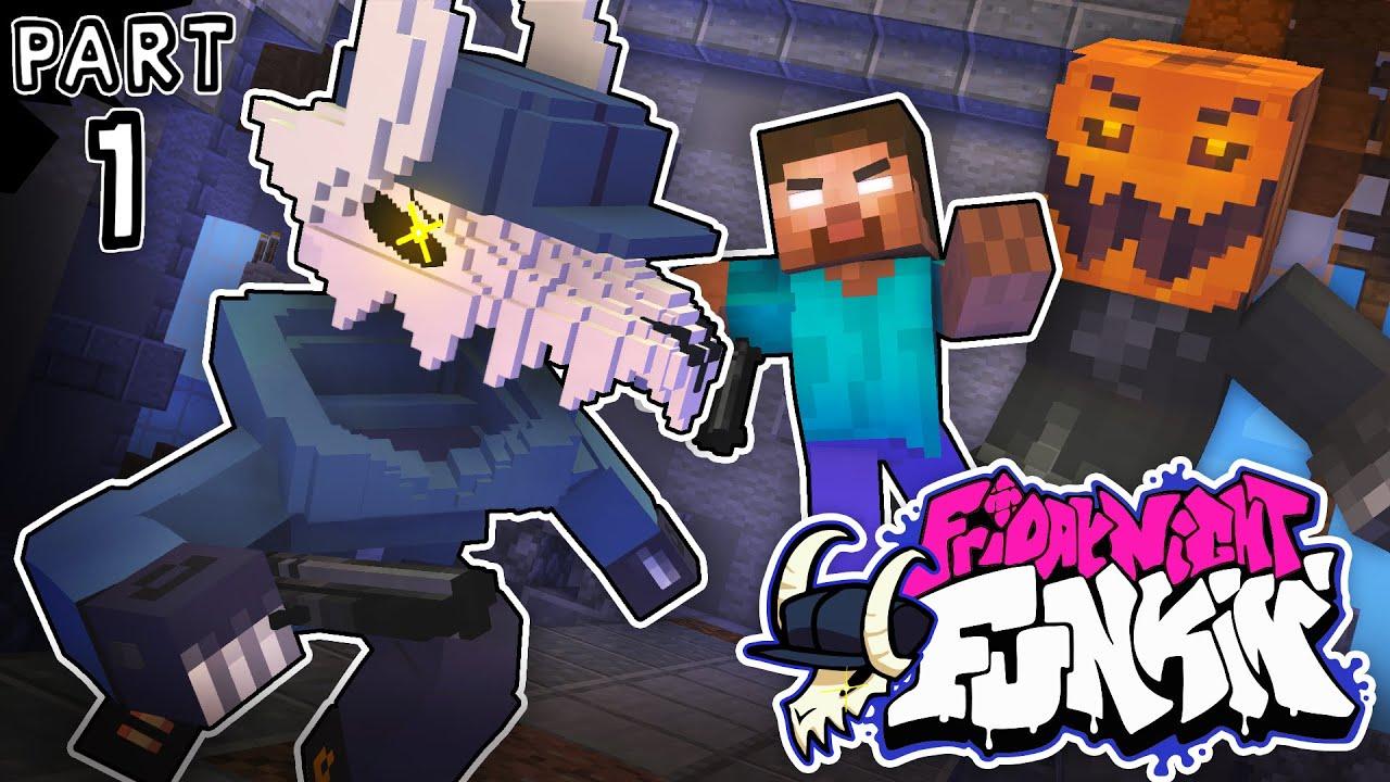 Monster School : FRIDAY NIGHT FUNKIN vs Tabi Part 1 - Minecraft Animation