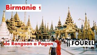 Intérêts touristiques de Rangoon, Pagan. Myanmar. Birmanie