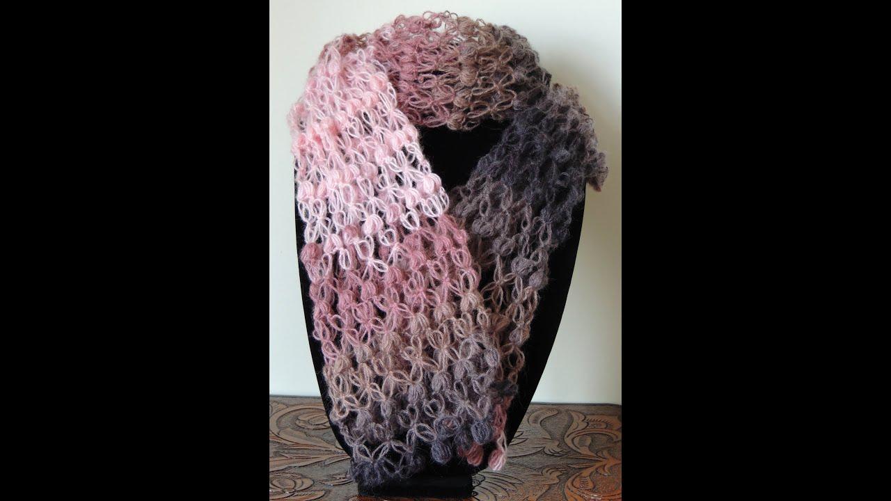 Crochet : Punto Salomon. Variación 1 - YouTube