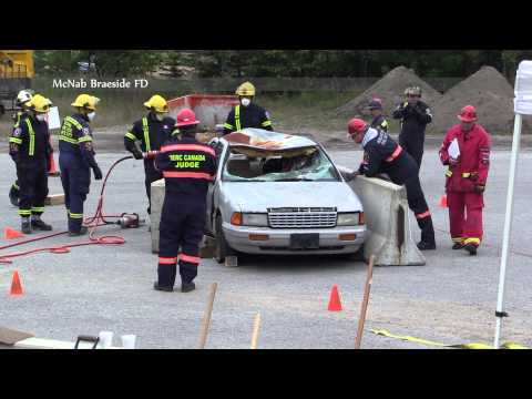 McNab Braeside FD @ 2014 TERC Eastern Ontario Extrication Comp