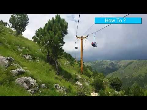 Abbottabad Chair-Lift (The beauty of Pakistan) KPK Hazara Vlog#1 Pakistan New Tourist Spot