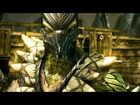 Mortal Kombat X: How To Play With Reptile (Nimble) - Most Damaging Combos & Tips
