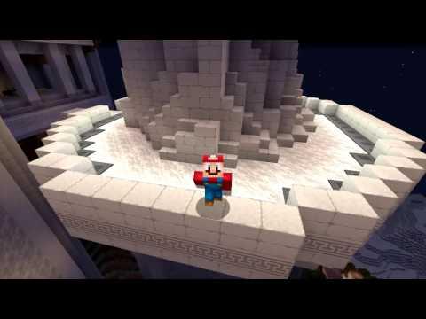 Minecraft Wii U - Super Mario Series - Rosalina Gives Birth to Jeffy [117]