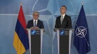 ՀՀ նախագահ  Հայաստան ՆԱՏՕ հարաբերությունները հիմնված են ընդհանուր շահերի և անհրաժեշտության վրա