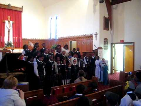 Grace Lutheran School choir in Malverne NY