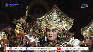 "PKB XLIII-DUTA KARANGASEM ""Tari Bebarisan Dane Swara Raja"""
