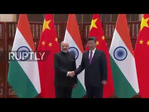 China: India's Modi and Xi Jinping meet ahead of G20 General Assembly