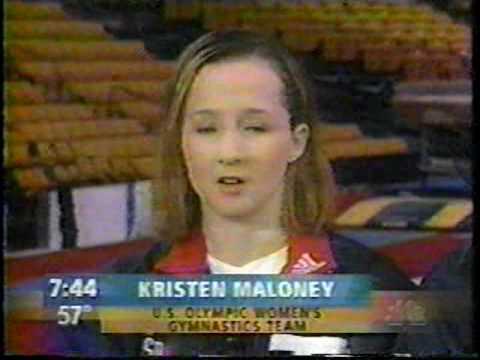 US Women's 2000 Sydney Olympic Gymnastics Team on the Today Show