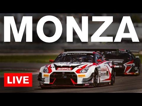 Blancpain Endurance Series - Monza 2016 - LIVE Main Race + GT-R GT3 Onboards